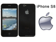 Китайские качественные сотовые телефоны  Iphone стиль S8(WCDMA